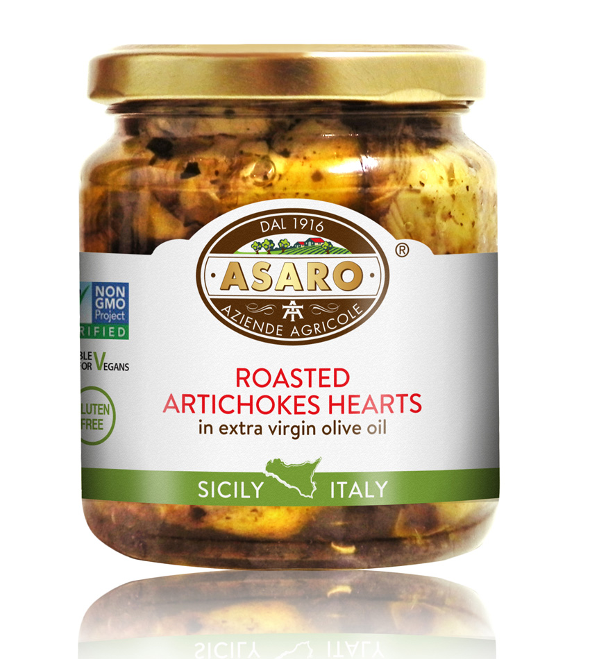 Asaro Farm Roasted Artichokes Hearts