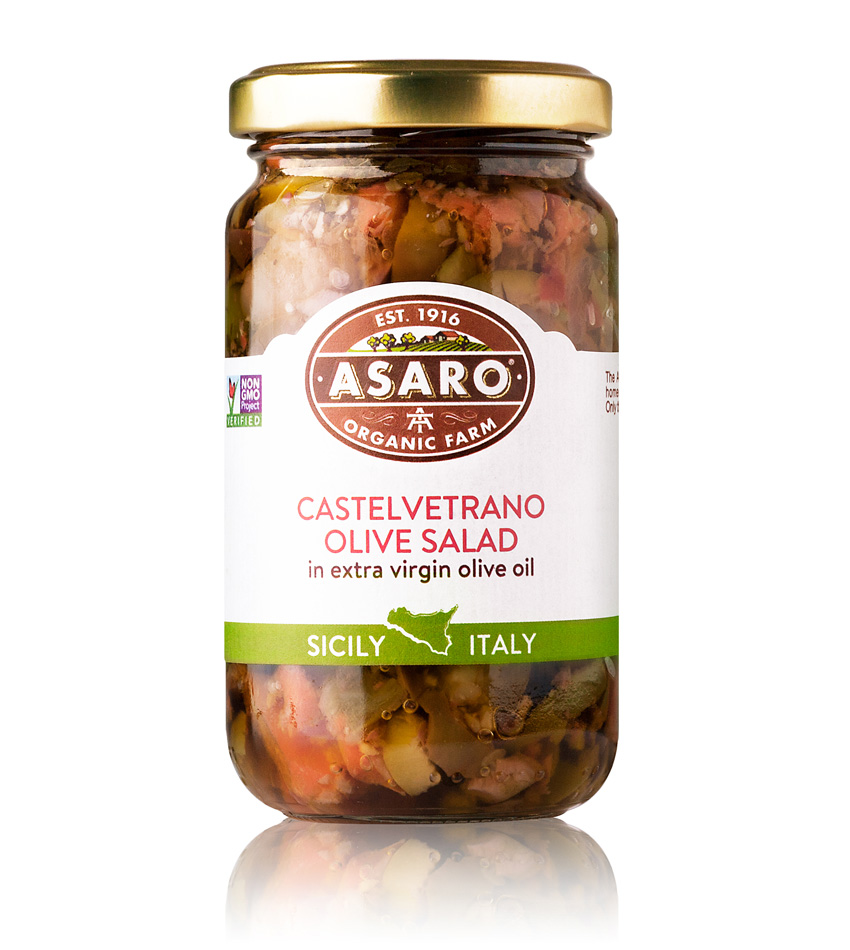 Asaro Farm Castelvetrano Olive Salad