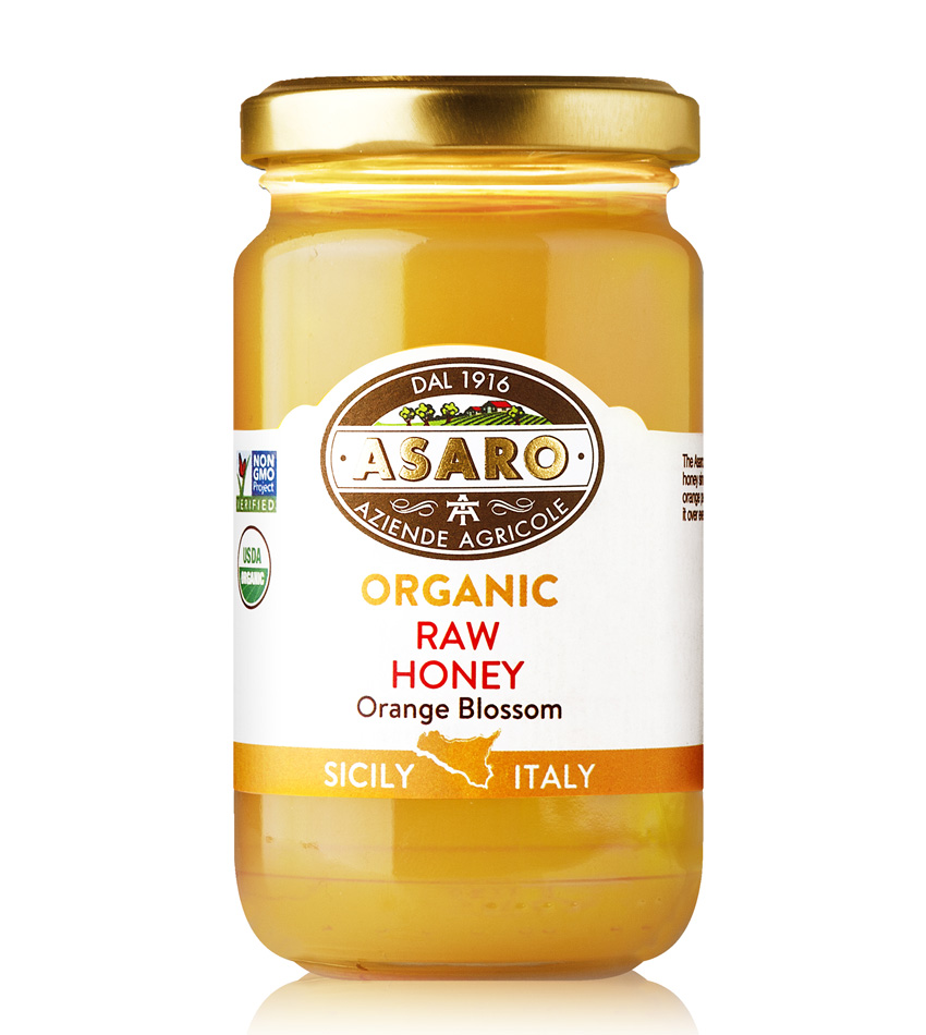 Asaro Farm USDA ORGANIC Raw Honey Orange Blossom