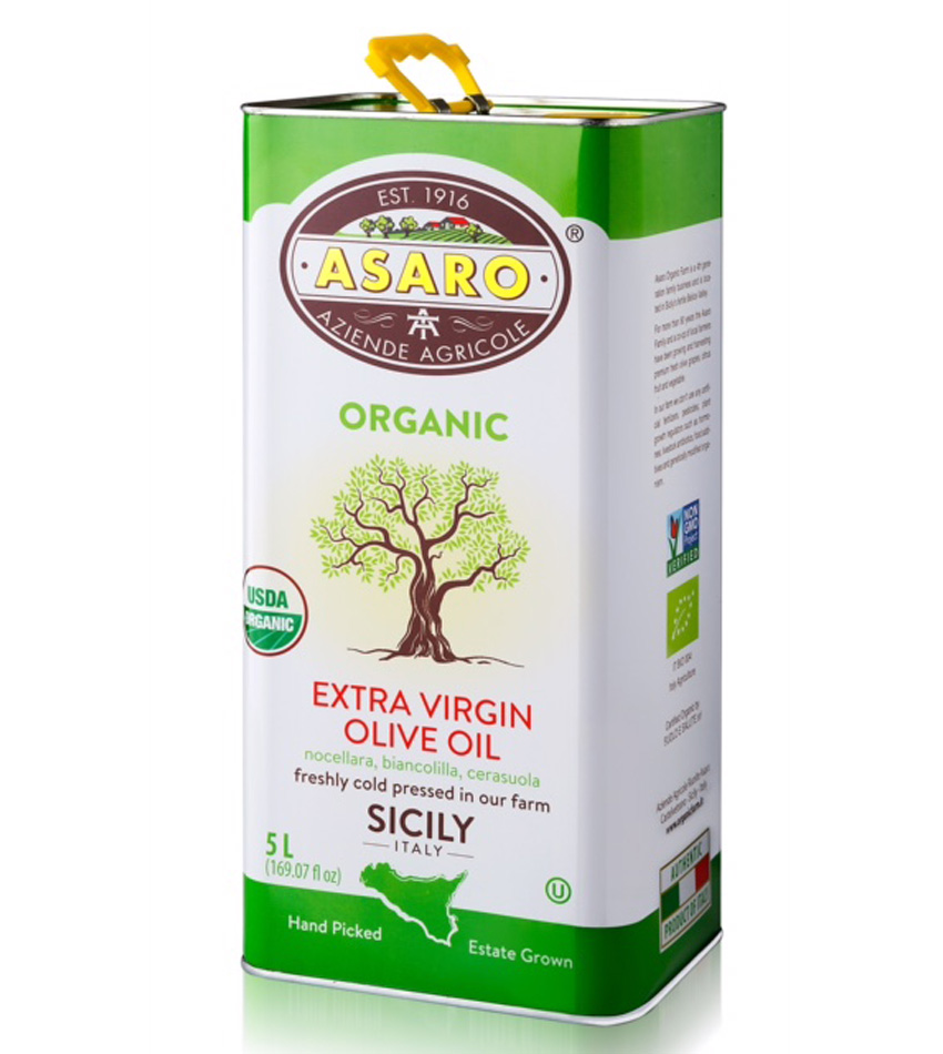 Asaro Farm USDA ORGANIC Extra Virgin Olive Oil