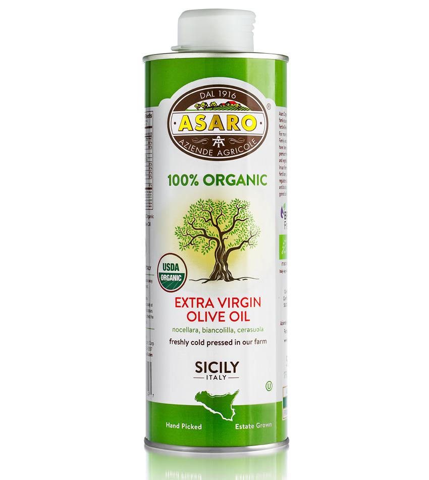 Asaro Farm USDA ORGANIC Extra Virgin Olive Oil