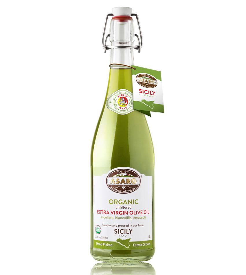 Asaro Farm USDA ORGANIC UNFILTERED Extra Virgin Olive Oil