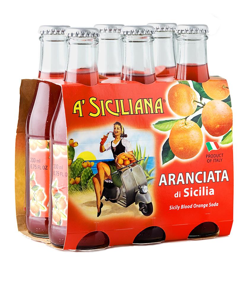 A' Siciliana Sicilian Blood Orange Soda