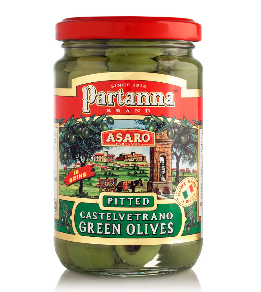 Partanna Castelvetrano Green Whole Olives