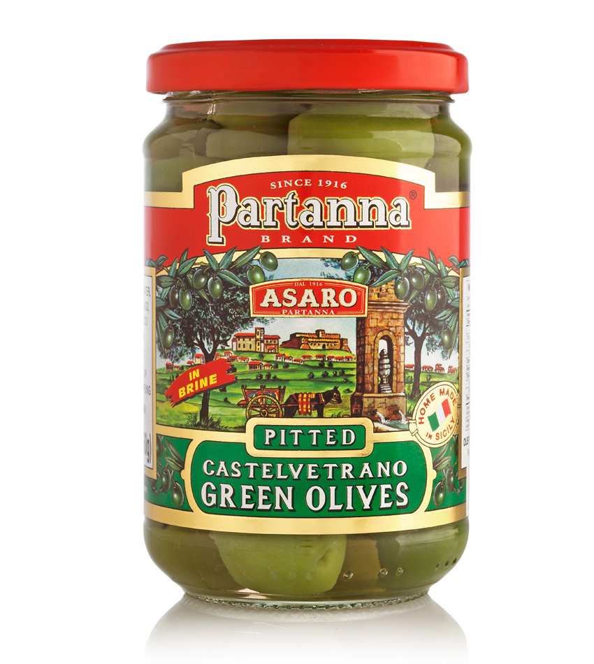 Partanna Green Castelvetrano Pitted Olives