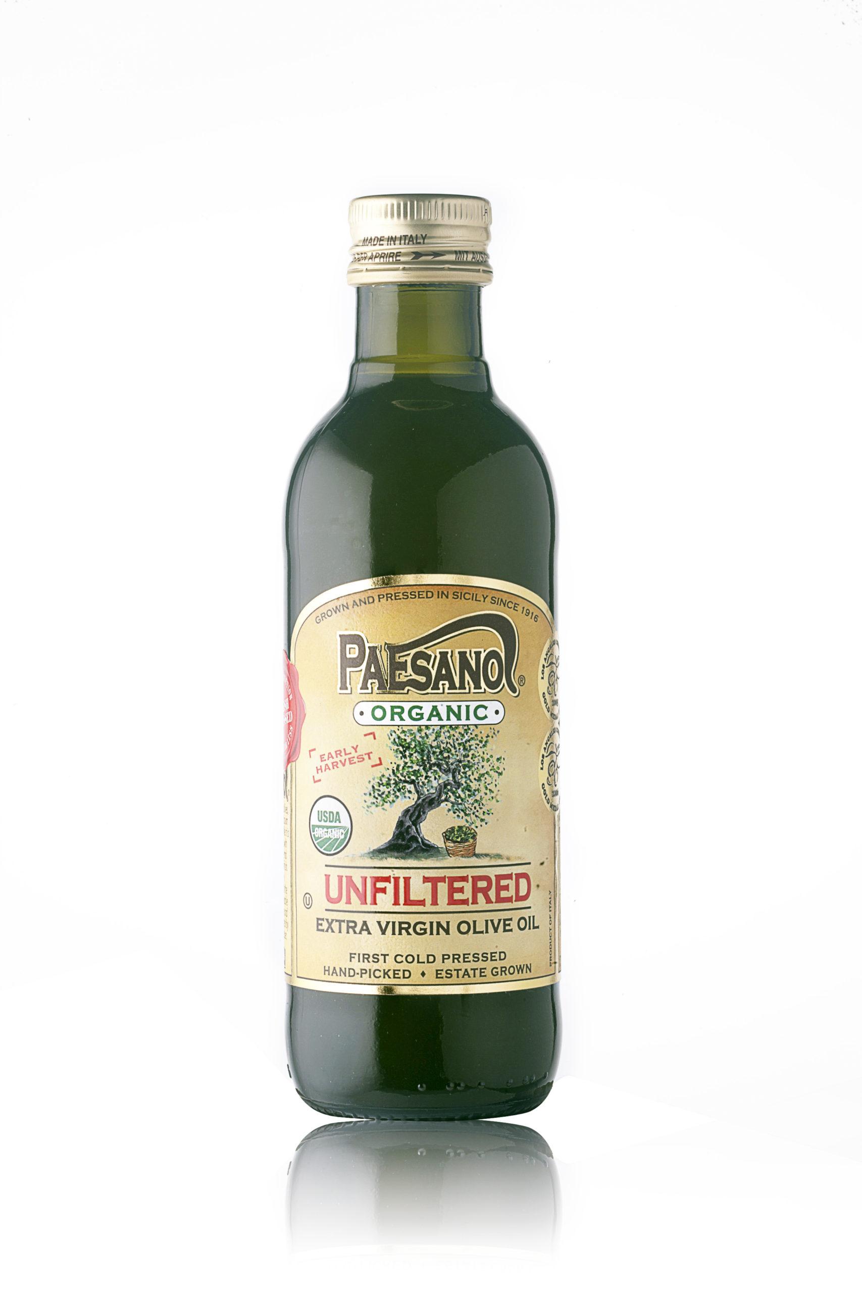 Paesanol USDA ORGANIC UNFILTERED Extra Virgin Olive Oil