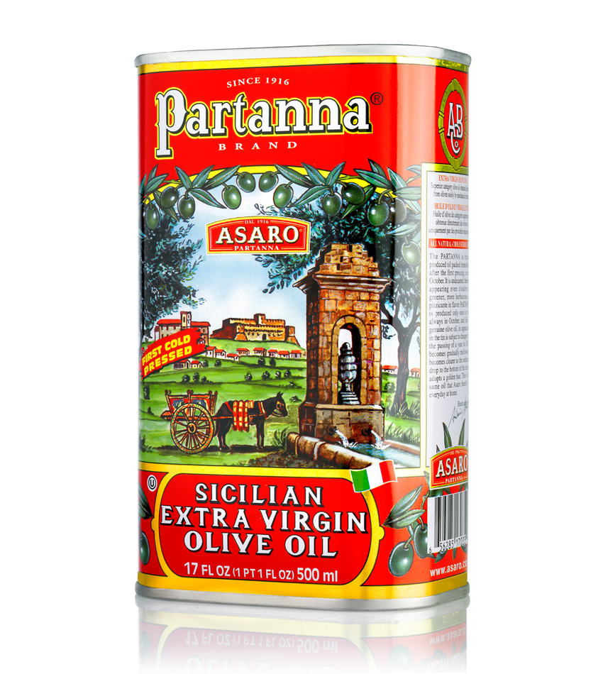 Partanna Specialty Gourmet Extra Virgin Olive Oil