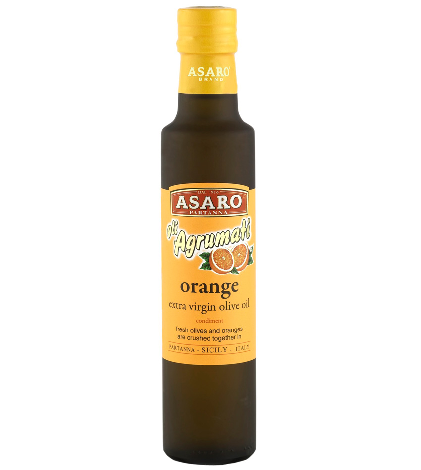 Asaro Agrumati Extra Virgin Olive Oil with Sicilian Moro Orange