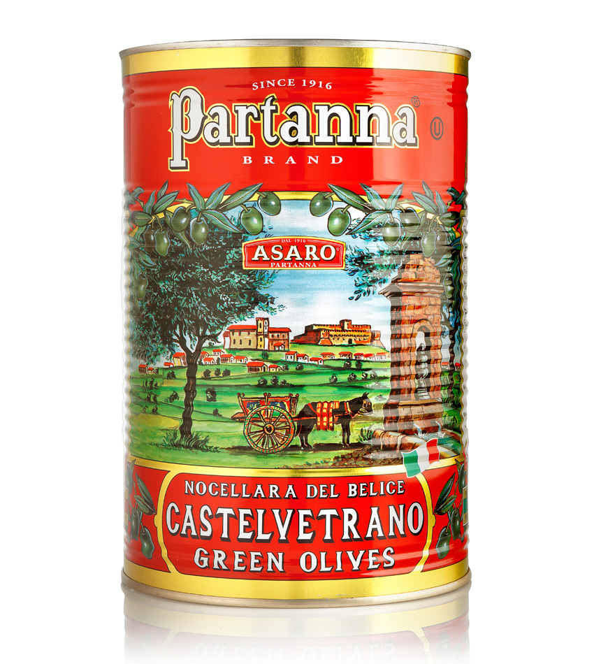 Partanna Green Castelvetrano Pitted Olives