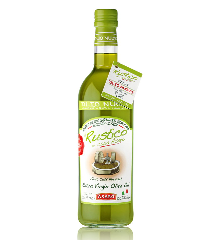 OLIO NUOVO UNFILTERED Extra Virgin Olive Oil