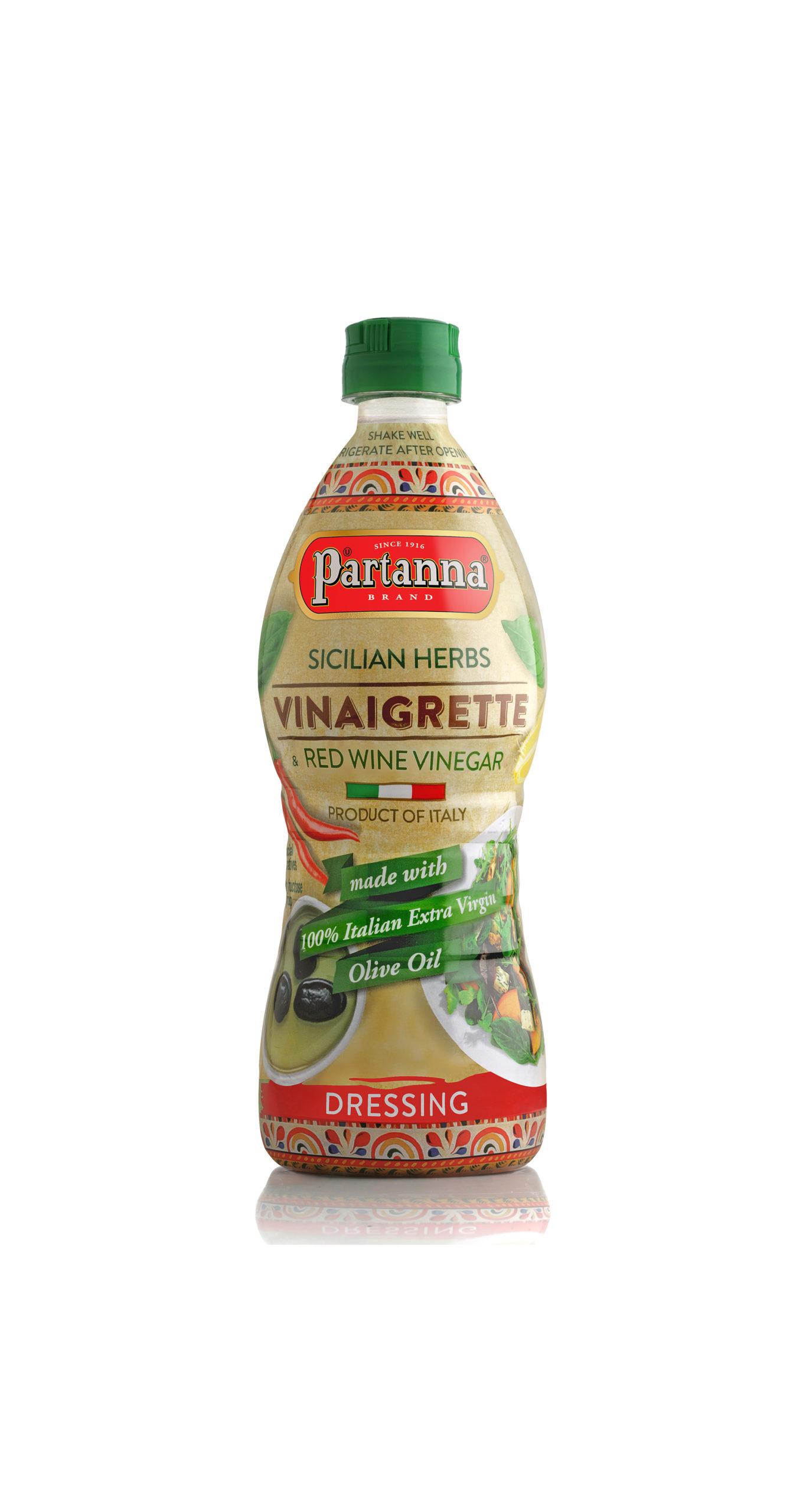 Partanna Sicilian Herbs Vinaigrette