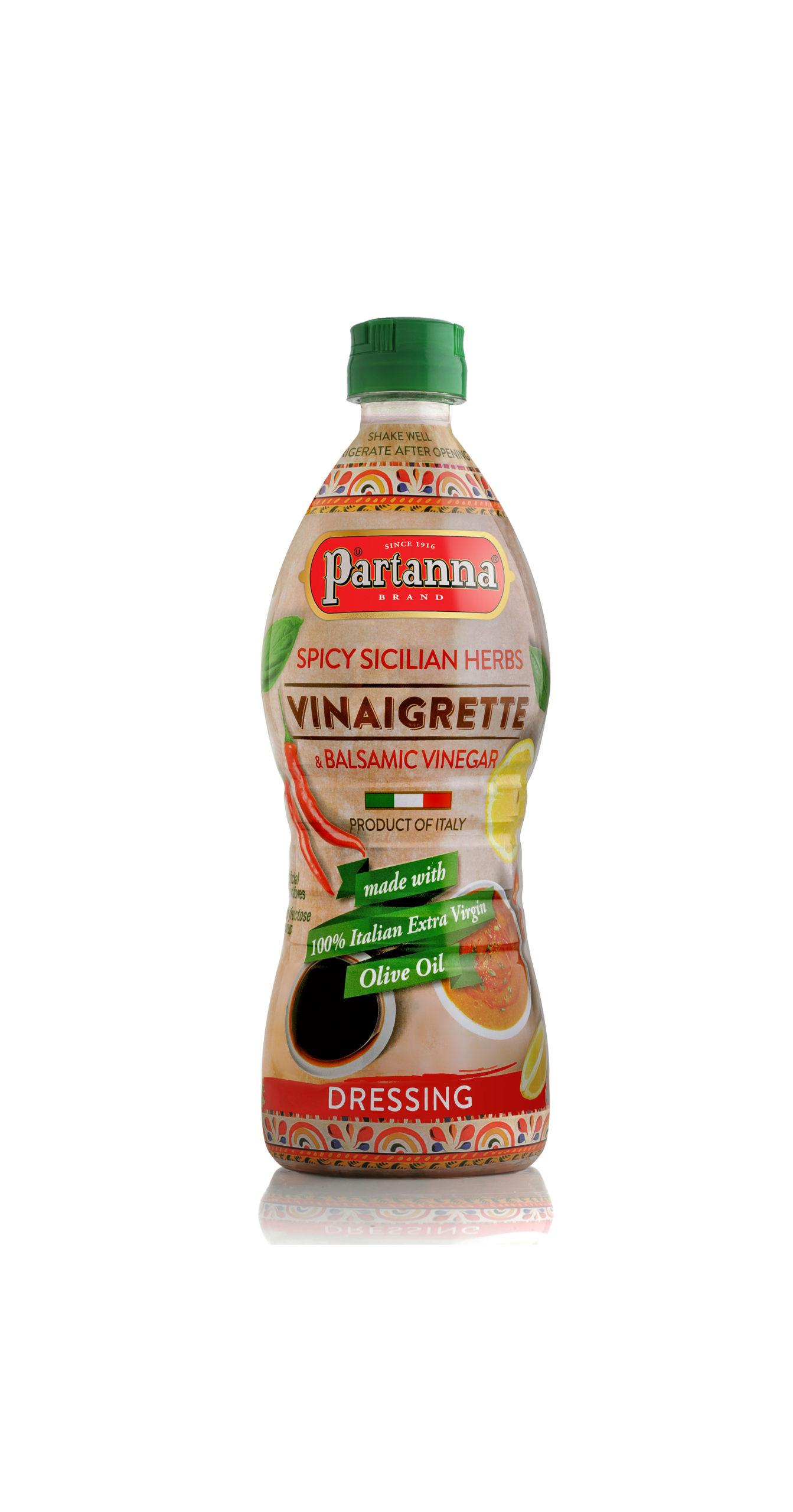 Partanna Spicy Sicilian Herbs Vinaigrette